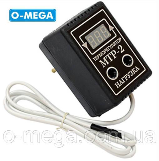 Терморегулятор цифровой МТР-2 розеточный 10А (-55...+125), фото 1