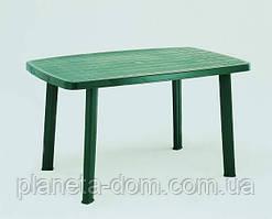 Стол пластиковый Faro (зелёный)