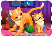 """Пазлы 30 элементов """"Кошка и котёнок"""", фото 2"""