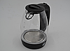 Электрический чайник PROMOTEC 1,7 л, 2250 Вт, стекло, фото 4