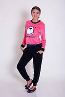 Женская пижама велюровая  Nicoletta 87066, фото 1