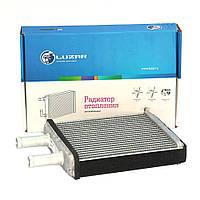 Радиатор отопителя 1118,2170 алюминиевый Лузар с кондиционером HALLA
