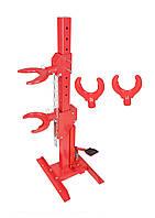 Съемник пружин гидравлический вертикальный с насадками Profline 97145