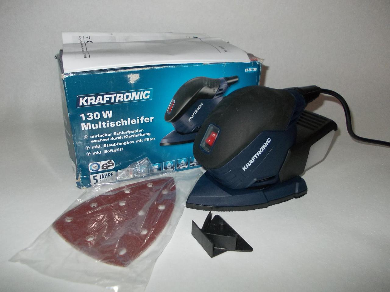 Шлифмашина kraftronic kt-es 130: продажа, цена в Харькове. от