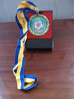 Медаль під  замовлення сувенірна бронза МА001, фото 1