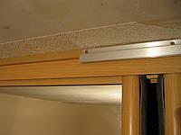 Натяжной потолок и шкаф купе