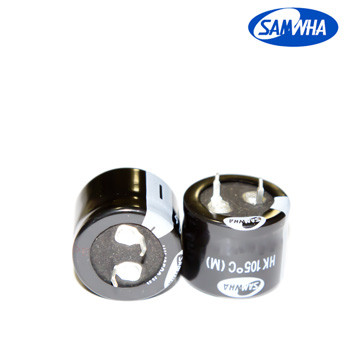 82mkf - 450v  HK 25*25  SAMWHA, 105°C конденсатор електролітичний