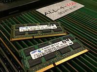 Оперативна пам`ять SAMSUNG DDR3 2GB SO-DIMM PC3 10600S  1333mHz Intel/AMD