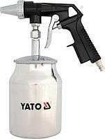 Пескоструйрый пистолет с бачком YT-2376