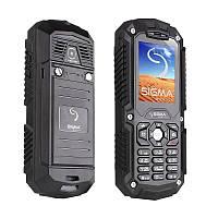 ХИТ ПРОДАЖ!!! ЗАЩИЩЕННЫЙ ТЕЛЕФОН Sigma /защита от пыли и воды/противоударный мобильный телефон/