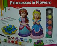 Набор творческий Принцессы и цветы