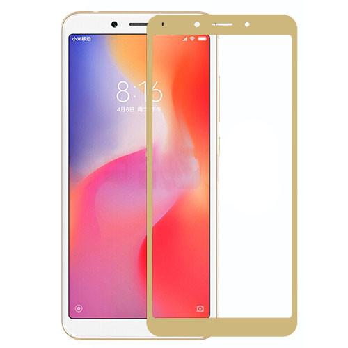 Защитное стекло 3D Gold для Xiaomi Redmi 6 / 6A