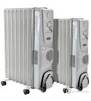 Масляный радиатор Термия Н 0924 В с вентилятором