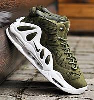 """Баскетбольные кроссовки в стиле Nike Air Max Uptempo 97 """"URBAN HAZE"""""""