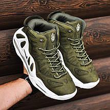 """Баскетбольные кроссовки в стиле Nike Air Max Uptempo 97 """"URBAN HAZE"""", фото 2"""