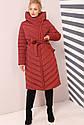 Пальто женское зимнее Фелиция - размеры 58 60, фото 4