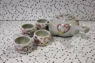 Кофейный сервиз  Hello Kitty (5 предметов)