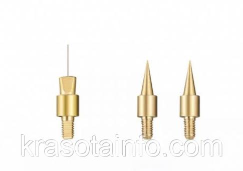 Конусная игла для Plasma Pen косметологического аппарата. Сменная насадка к коагулятору Beauco, 1 шт