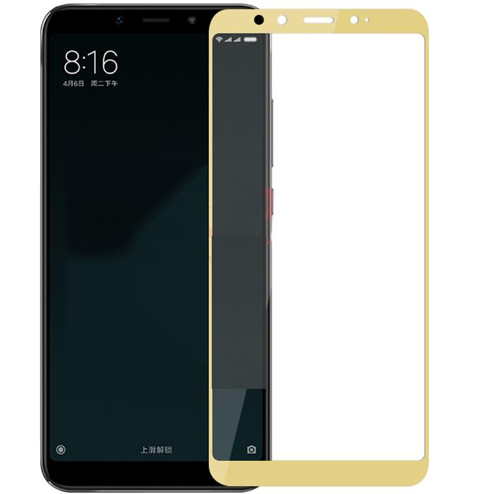 Защитное стекло 3D Gold для Xiaomi Mi 6x / Mi A2