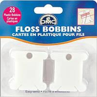 Бобинки пластиковые (28 шт) для мулине DMC