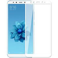 Защитное стекло 3D White для Xiaomi Mi 6x / Mi A2