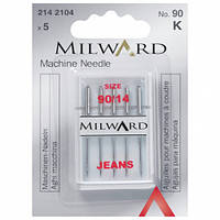 Иглы для швейных машин для джинса Milward 2142104 (№ 90)