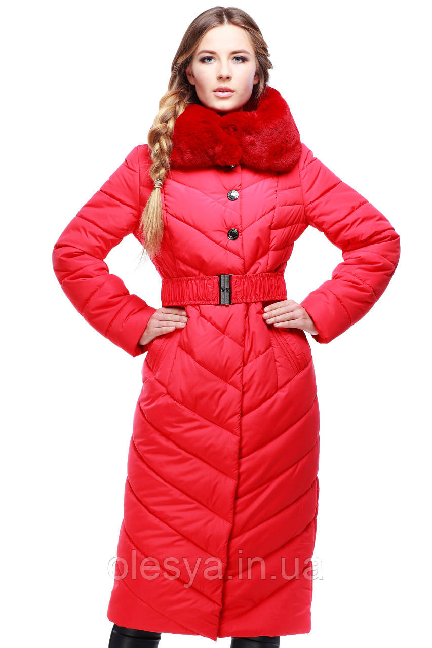 Пальто Мария 2 - красный №76