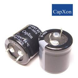 120mkf - 400v   LP 25*26  Capxon, 85°C
