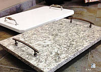 Изделия из натурального камня гранита и мрамора.Разделочная доска из натурального кмня