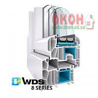 Металлопластиковая система WDS 8 series, фото 1