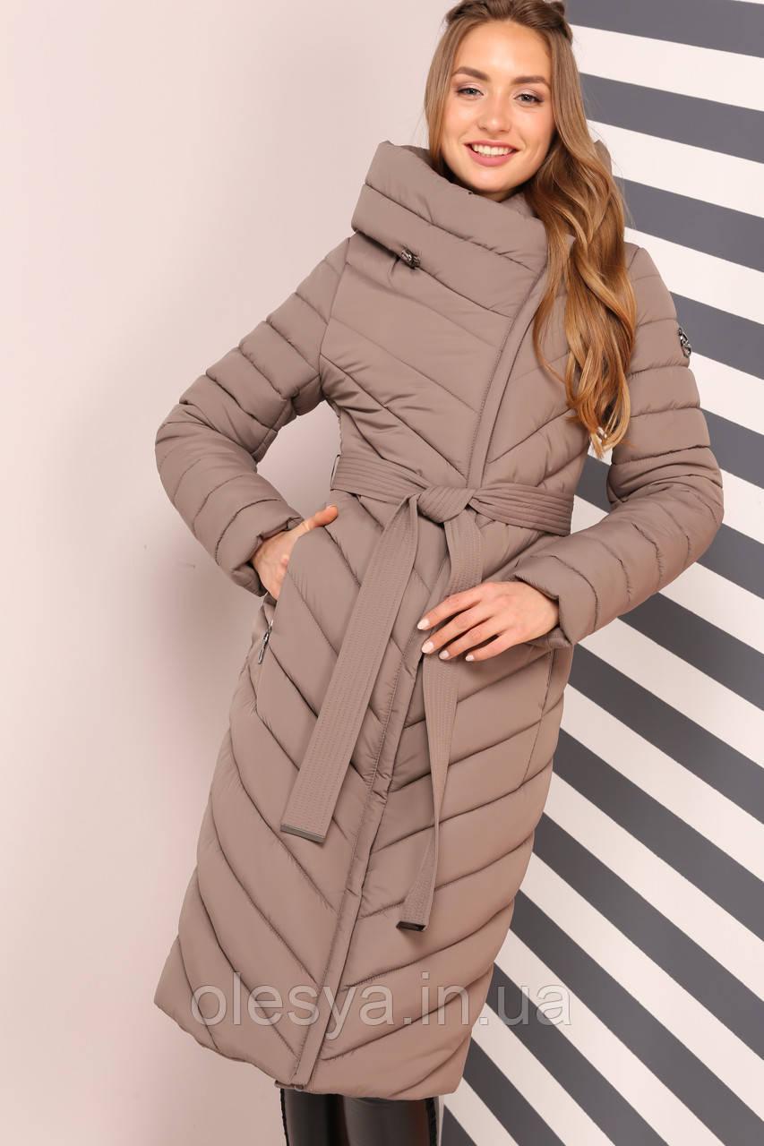 Пальто Фелиция - капучино  размеры 58 60