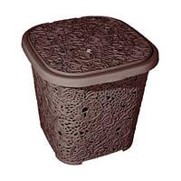 Корзина для хранения Elif Ажур 387-5 коричневая