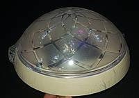 Настенно - потолочный светильник круглый бежевый на одну лампочку, фото 1