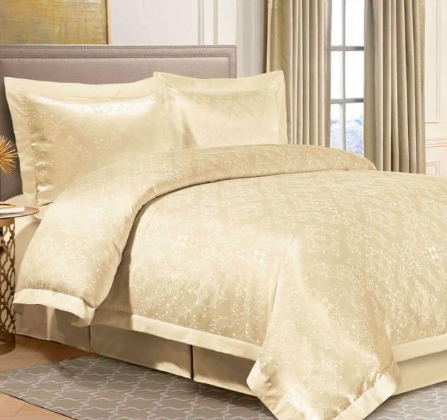 Комплект постельного белья Евро Жаккард 200Х220 2-19 TH0149