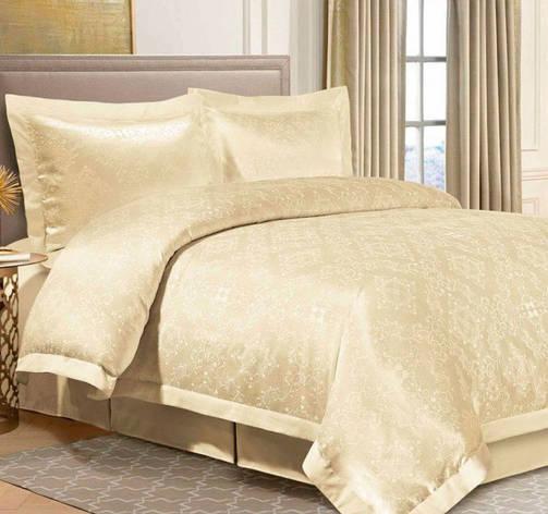 Комплект постельного белья Евро Жаккард 200Х220 2-19 TH0149, фото 2