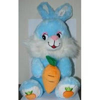 Мягкая игрушка  Заяц с морковкой озвученная