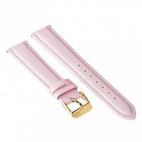 Ремешок для часов ZIZ (пудровый - розовый, золото)