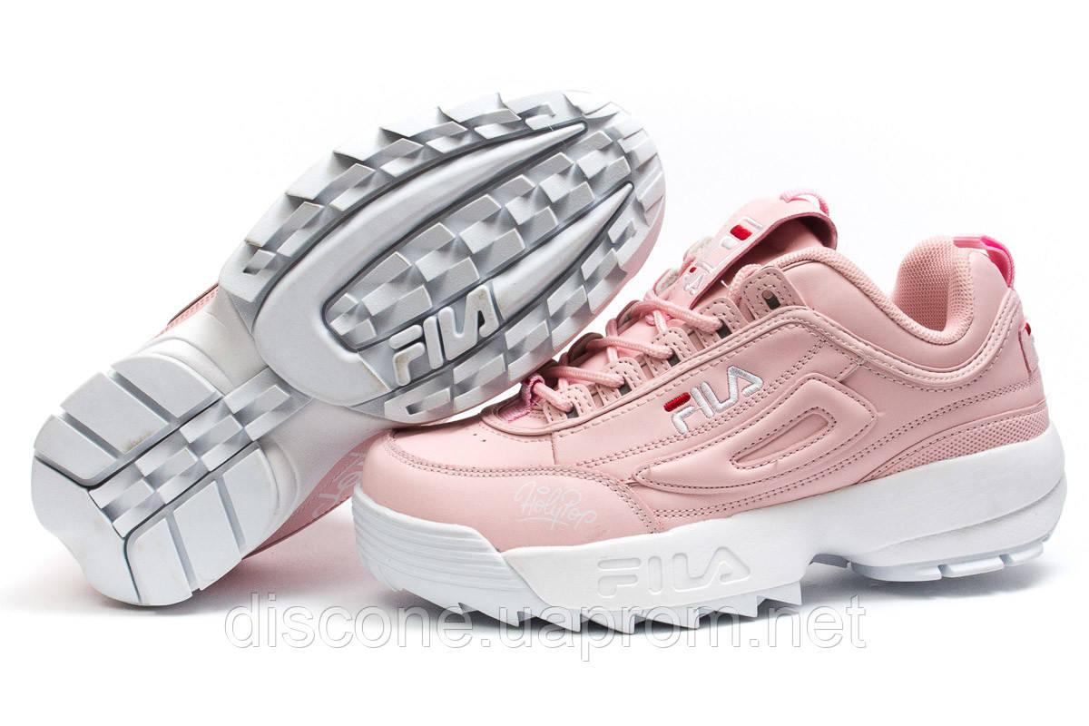 Кроссовки женские ► Fila Disruptor,  розовые (Код: 14252) ► [  38 39  ] ✅Скидка 33%