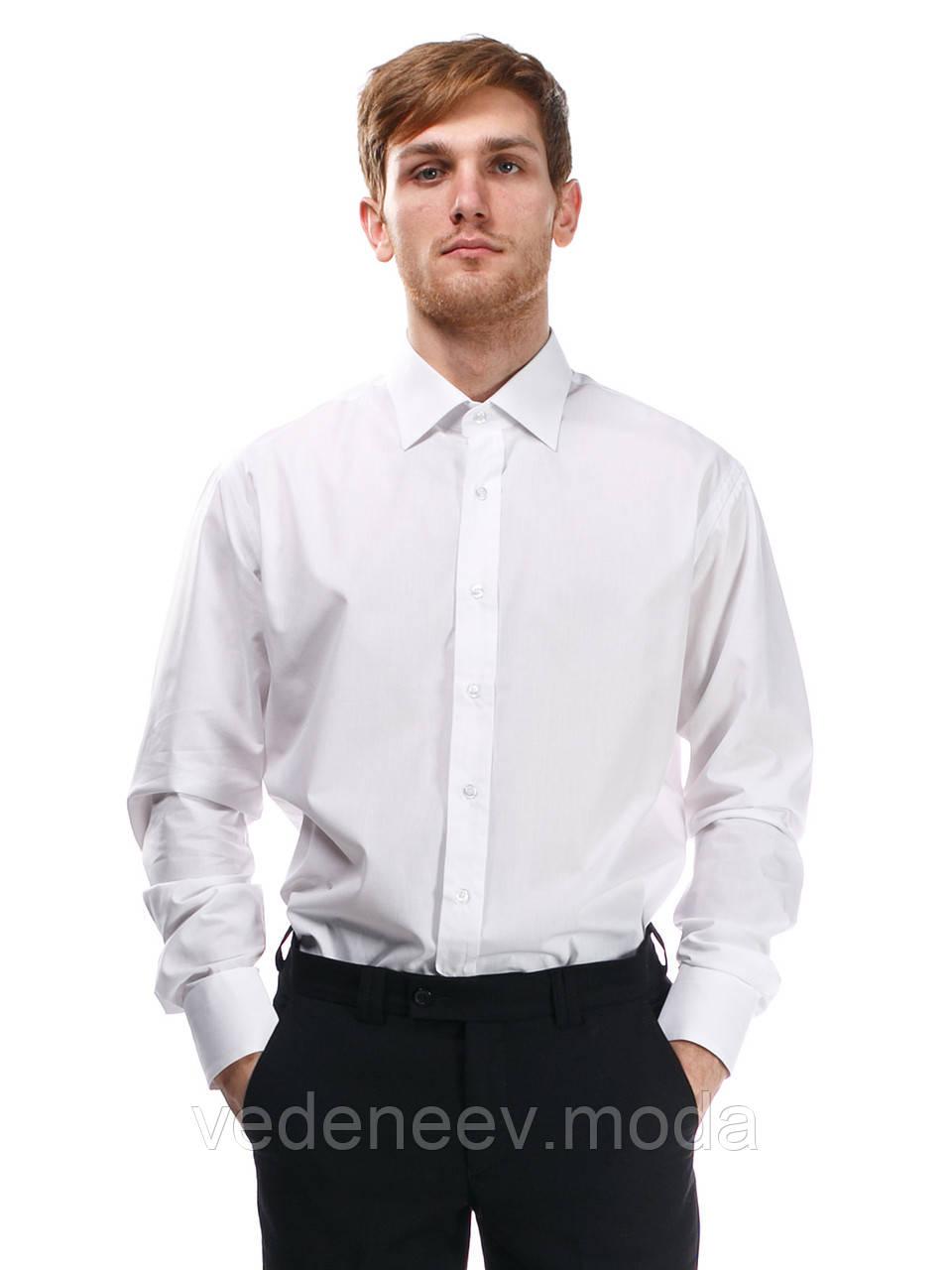 Мужская рубашка белая