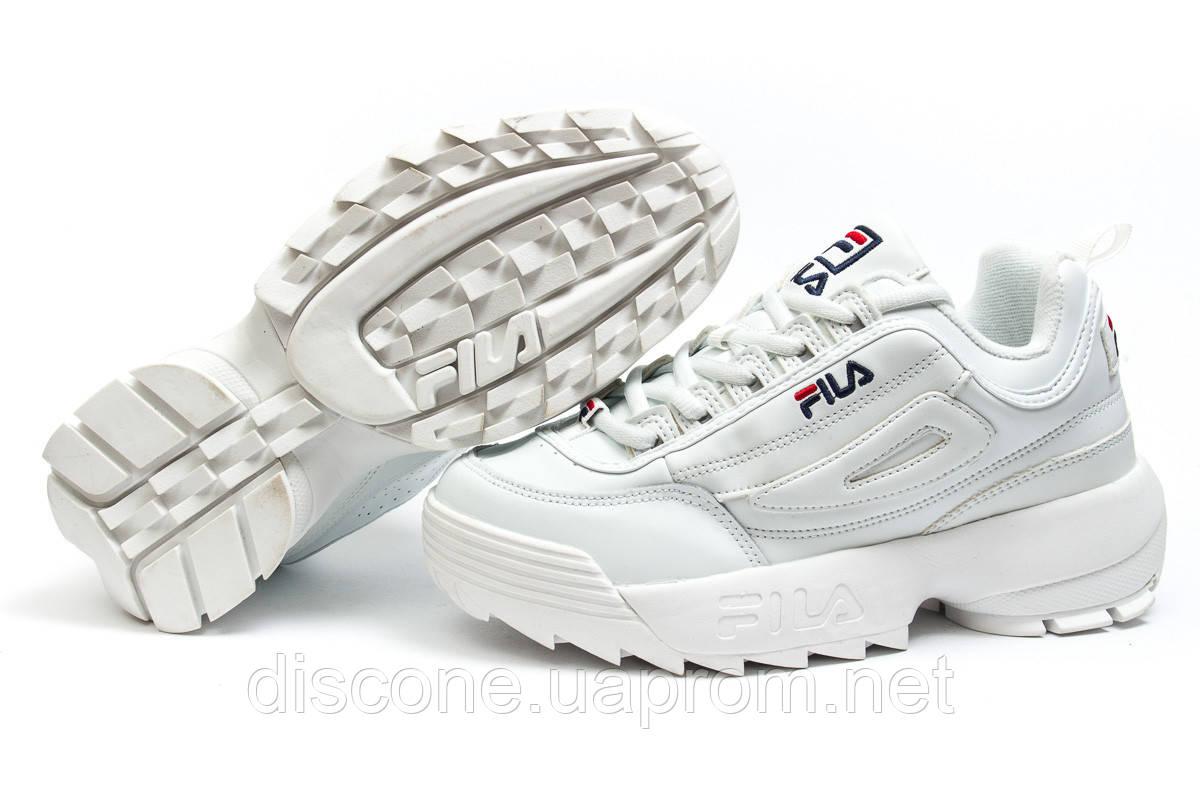 Кроссовки женские ► Fila Disruptor 2,  белые (Код: 14483) ►(нет на складе) П Р О Д А Н О!