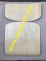 Комплект для школьного стула Сидушка-Спинка 34х34 см Клён, фото 1