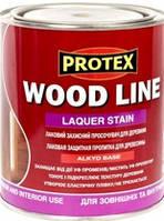 Лаковий захисний просочувач Protex для деревини WOOD LINE горобина (2,1л)