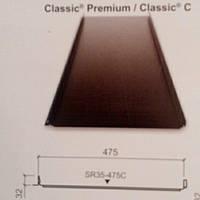 Фальцевые панели   ' 475  мм премиум класса с.