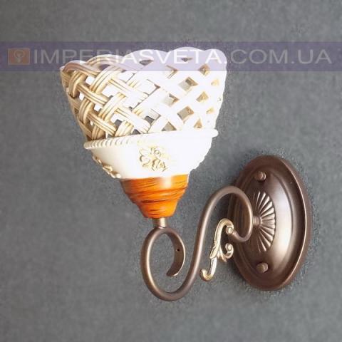 Классическое бра, настенный светильник IMPERIA одноламповое LUX-542156