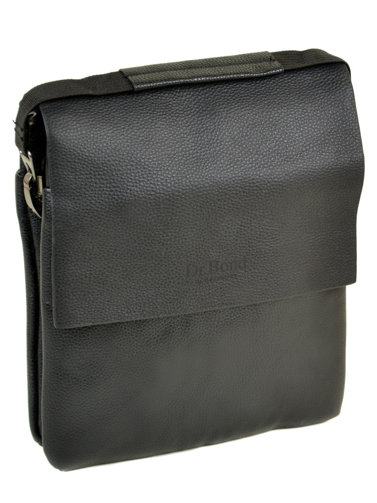 Мужская сумка планшет через плечо иск-кожа DR. BOND 204-4 black
