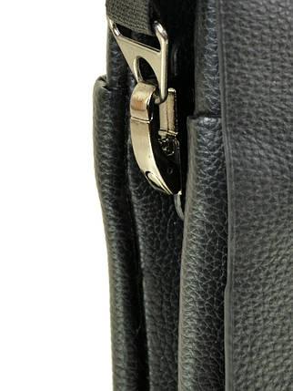 Мужская сумка планшет через плечо иск-кожа DR. BOND 204-4 black, фото 2
