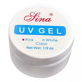 Гель для наращивания Lina розовый 10 ml