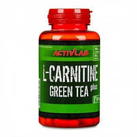 Л-карнитин - L-Carnitine Plus Green Tea - ActivLab - 60 капс