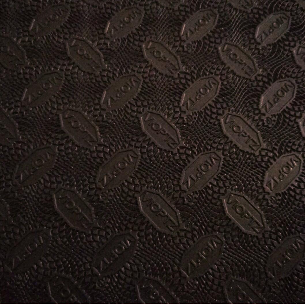 """Профилактика повышенной прочности """"VIOPTZ"""" 570mm×380mm×1.2mm темно коричневый Премиум класса"""