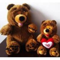 Мягкая  игрушка Медведь озвученная